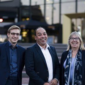 Fractie D66 Barendrecht Marcel, Jasper, Marianne
